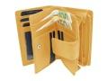 Zippbörse Optimal RFID   <br>KALBLEDER - weich!